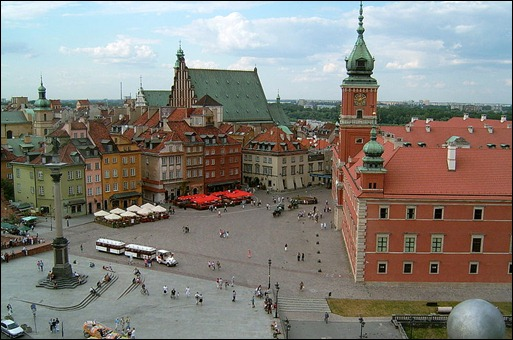POL Warsaw_-_Royal_Castle_Square