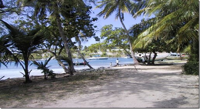 HAIT beach at Bay de Feret, Les Cayes, Haiti