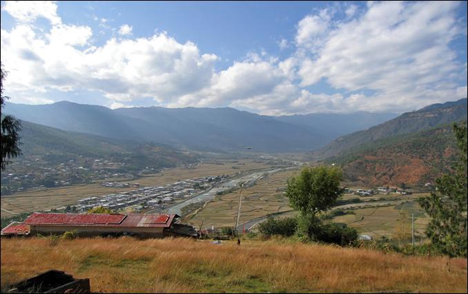The Paro Valley- Bhutan