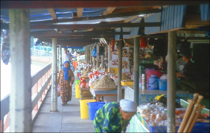 Brunei Bandar Seri Begawan Tamu Kianggeh Food Market