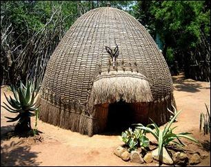 swaziland_Medicine man's hut at Swazi cultural village - near Manzini Swaziland