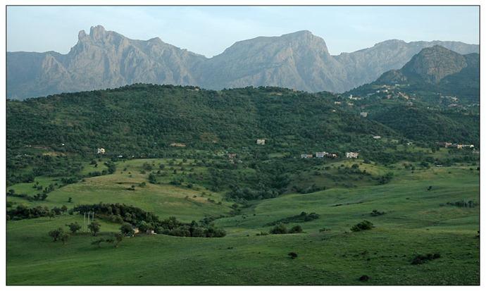 ARGE Djurdjura mountains, kabylie region