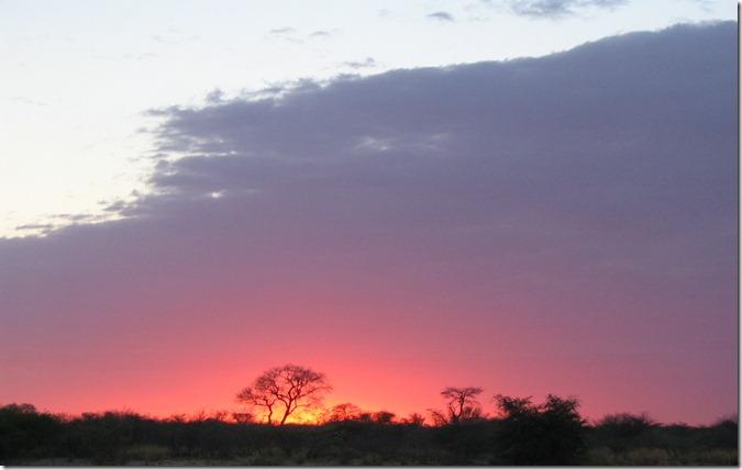 Botswana_sunrise