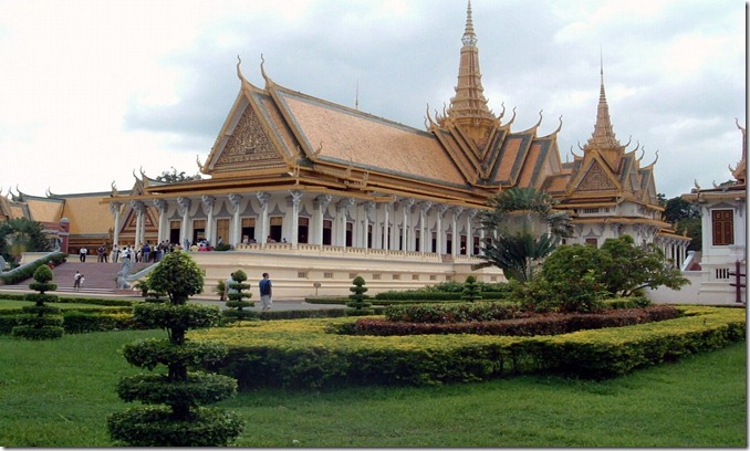 CAMBPhnom Penh Royal Palace