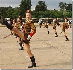 COR North-Korea-Army-Babes