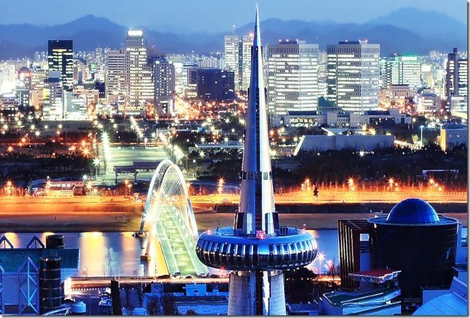 COR SDaejeon_Skyline