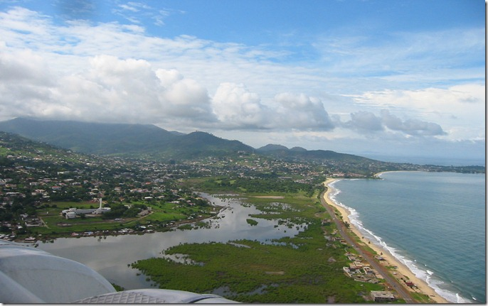 SIERRA freetown-from-air