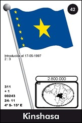 REPÚBLICA DEMOCRÁTICA DEL CONGO 42