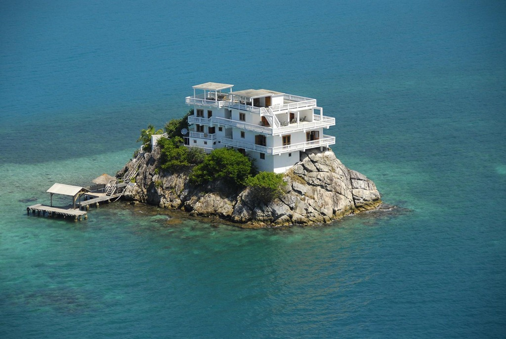 Дом на острове картинки 1