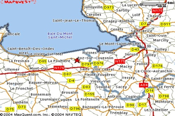 Le Vivier-sur-Mer map3