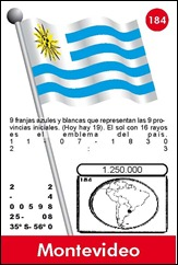 URUGUAY 184