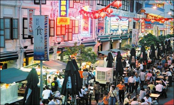 singapore chinatown---