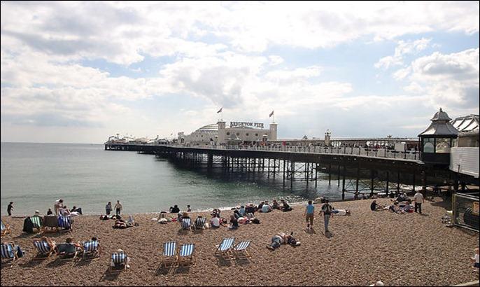UK brighton-pier