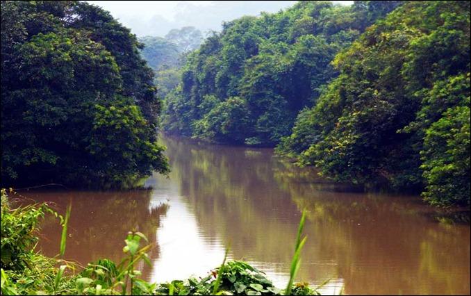 BRU 'Sungai Batu Apoi'-River is