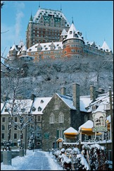CANQuebecCityChateauFrontenacWinter