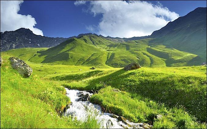 GEORChaukhi mountains