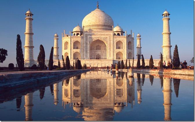 INDTaj Mahal, Agra, India