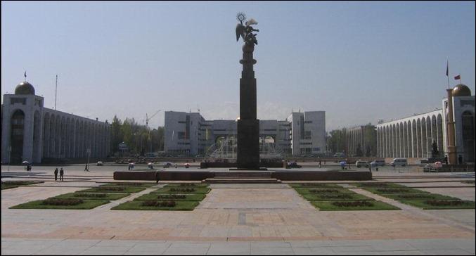 KIR Bishkek_square