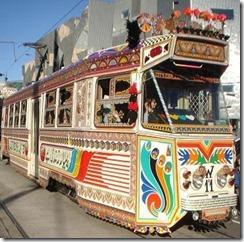 PAK karachi-tram