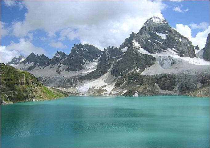 PAK lake located in Neelum Valley, AjkN Azad Jammu & Kashmir
