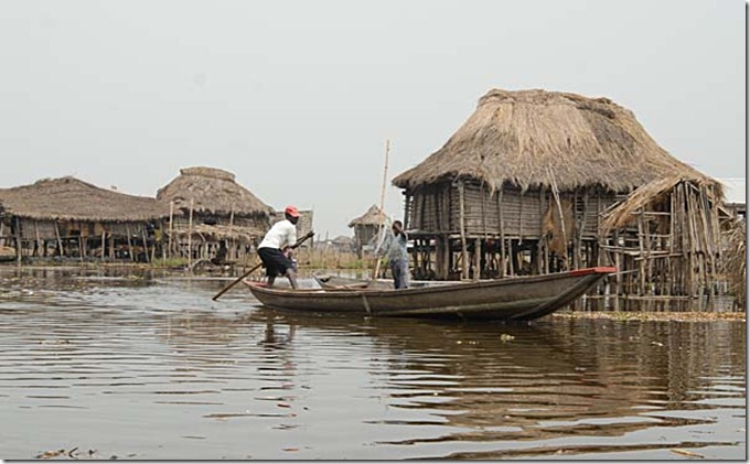 BENI Ganvie Village on the Lake