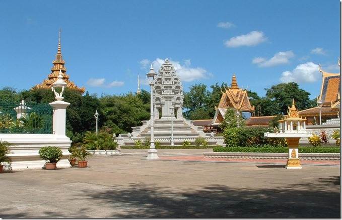 CAMBPhnom Penh Cambodia The Royal Palace and Silver Pagoda