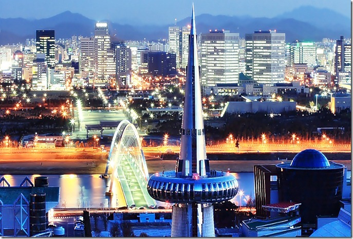 COR SDaejeon_Skyline