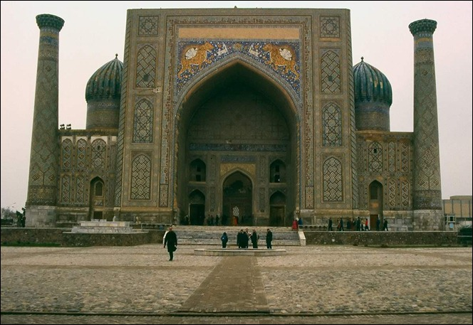 UZBEsher-dor-madrasah-in-samarkand-uzbekistan