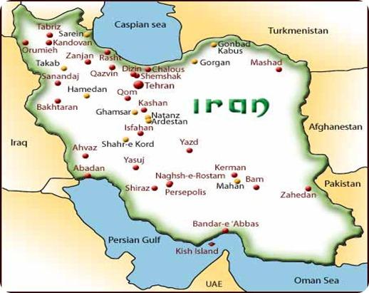 iran_map_iran