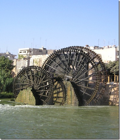 Hama-3_norias WATER WHEELS