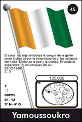 COSTA DE MARFIL 45