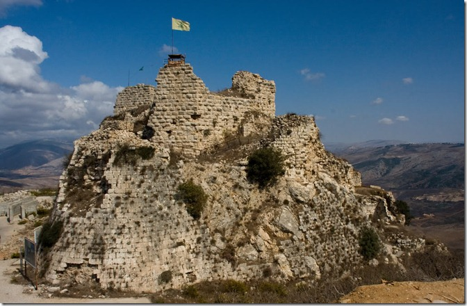 LIB Chateau de Beaufort or Belfort is a Crusader fortress in Nabatiye Governorate