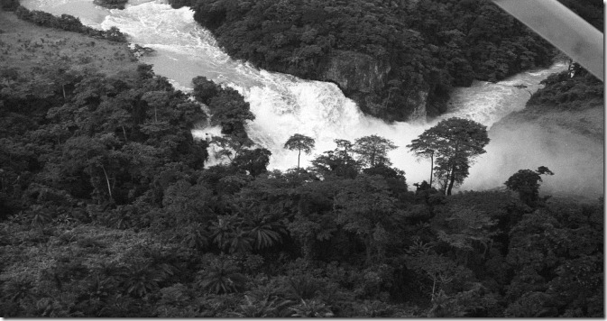 RDCON Inkisi Falls 60m197ft high at Zongo