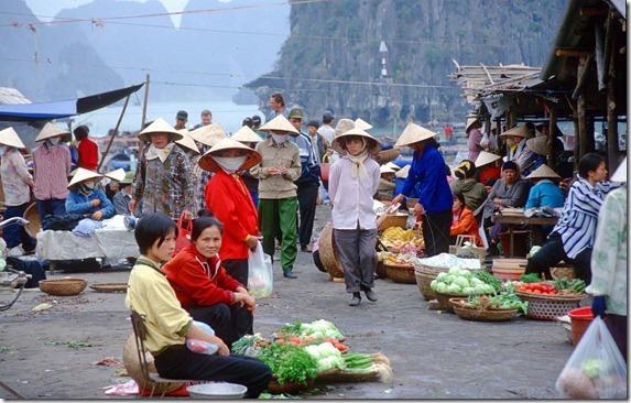 Halong Bay - Halong City - market