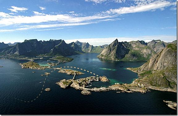 Hamnøy Lofoten  Eliassens Rorbuer's