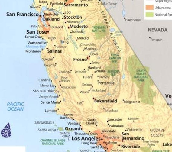 cal map