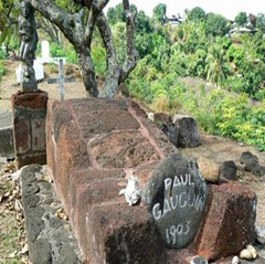 la tombe de Paul Gaugin