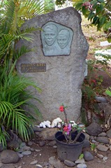 la tombe de Paul Gaugin-
