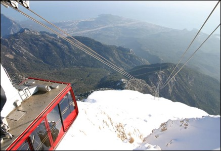 cable car olympos